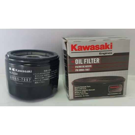 filtre huile moteur kawasaki 49065 7007. Black Bedroom Furniture Sets. Home Design Ideas
