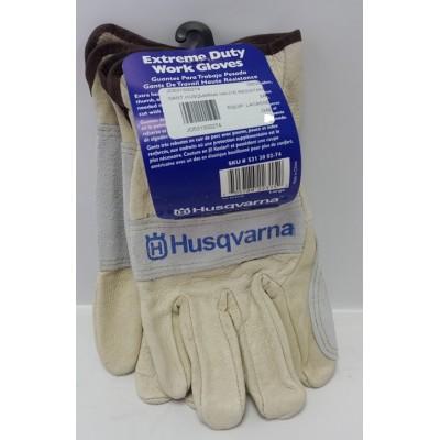 Gants de travail husqvarna en cuir